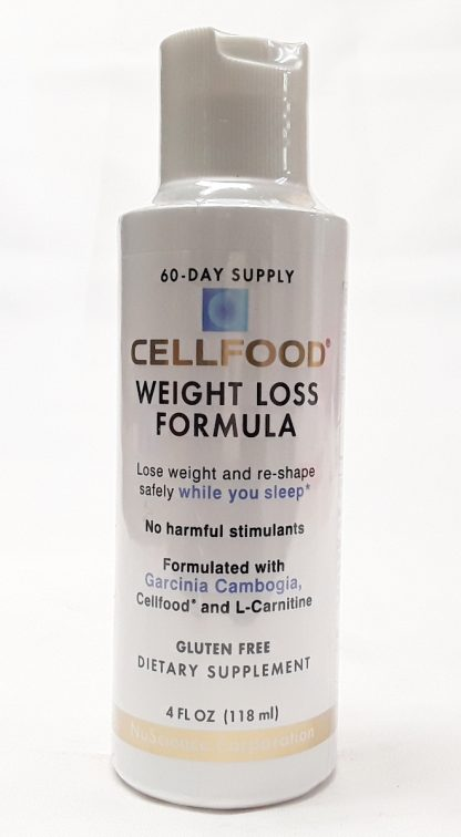 CellFood Weight Loss Formula big front view