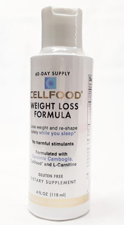 CellFood Weight Loss Formula 25 degree view