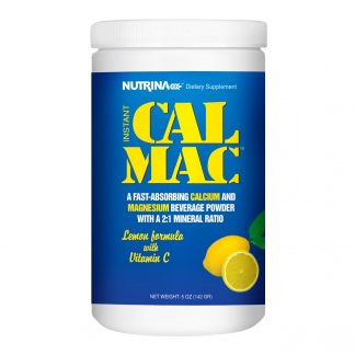 nutrina calmac lemon supplement bottle main image