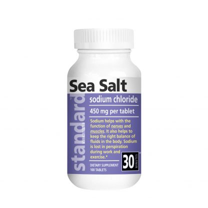Standard Vitamins Nutrina Sea Salt product image front view