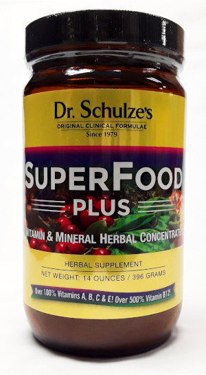 Dr. Schulze's SuperFood Plus product image main view