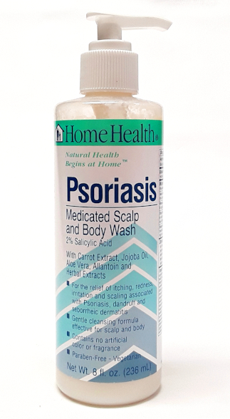 Homehealth Psoriasis bottle main view