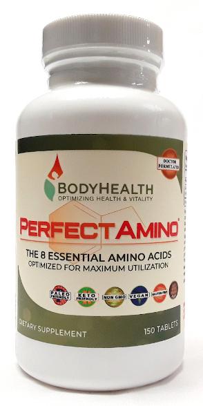 Perfect Amino 150 Tabs main product image view