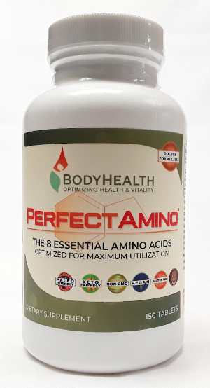 BodyHealth PerfectAmino 150 tabs main product image view