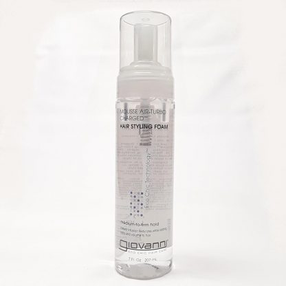 Giovanni Mousse Air Turbo Charged Hair Styling Foam Website Product Image View