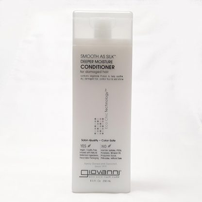 Giovanni Smooth as Silk Deeper Moisture Conditioner Website Product Image View