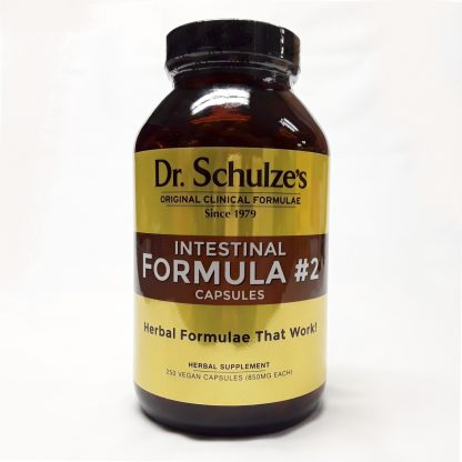 Dr Schulzes Intestinal Formula 2 Capsules Website Product Image View 1