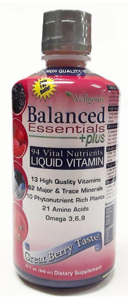 Wellgenix Balanced Essentials Liquid Nutritional Supplement, 32 Ounces (1)