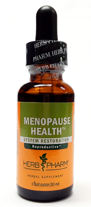 Herb Pharm Menopause Health Product Image View Front main