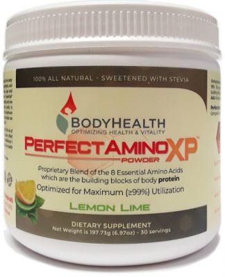 Bodyhealth PerfectAminoXP Lemon Lime 30 Servings main