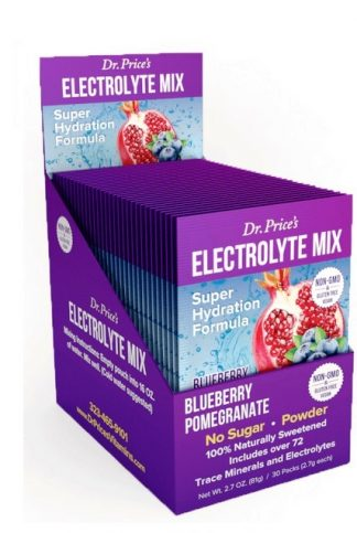 Dr. Price's Electrolyte Mix Blueberry Pomegranate product image main view