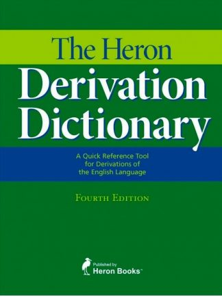 Heron Derivation Dictionary Product Main Image View
