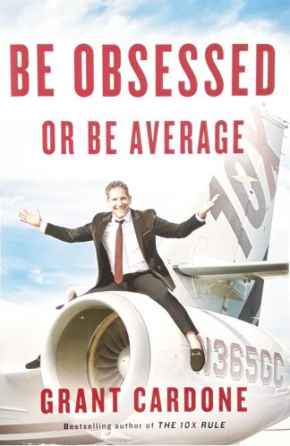 be obsessed or be average front book cover