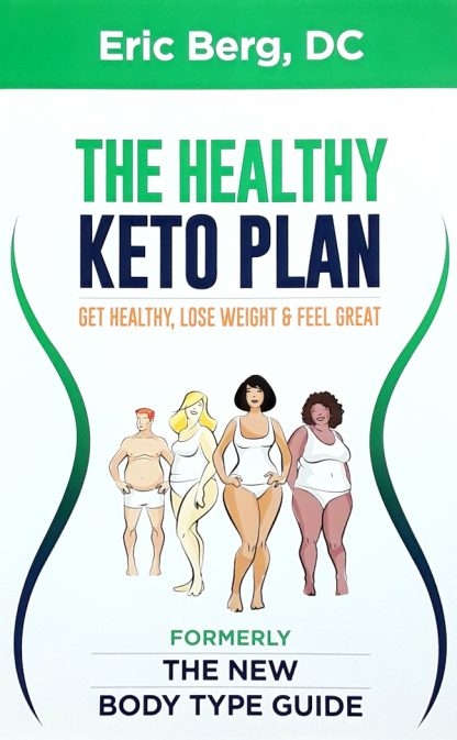 the healthy keto plan by dr eric berg front cover