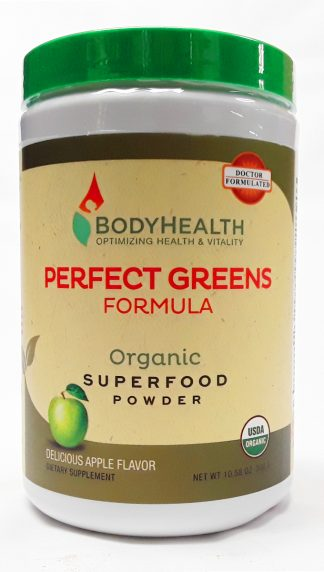 BodyHealth Perfect Greens Formula product view main