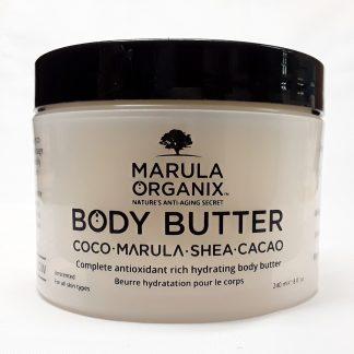 MARULA ORGANIX ANTI-AGING BODY BUTTER Website Image View