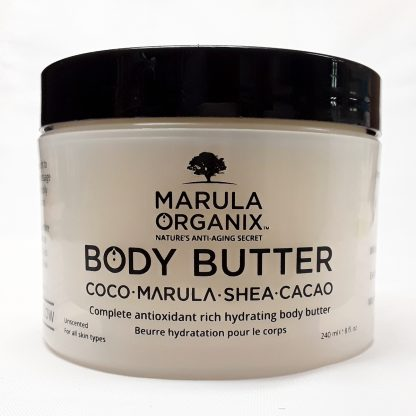 Marula Organix Body Butter Website Image View