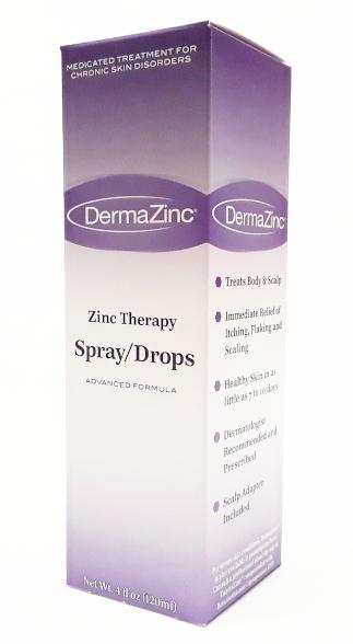 Dermazinc spray drops image main view