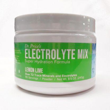 Dr Price Electrolyte Mix 90 Servings Lemon-Lime View 1