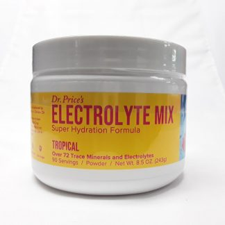 Dr Price Electrolyte Mix 90 Servings Tropical View 1