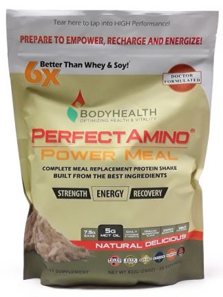 Perfect Amino Power Meal Natural Delicious main