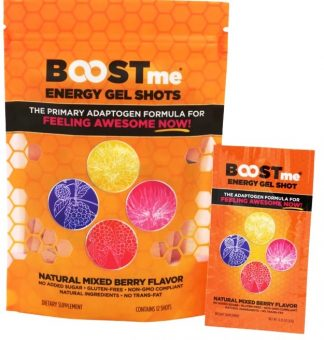 BOOSTme Energy Gel Shot main product image view