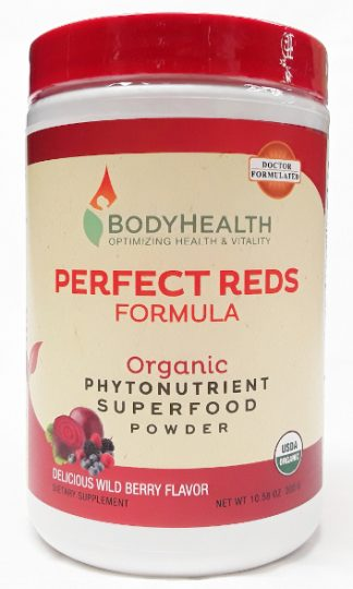 BodyHealth Perfect Reds Formula Product Main Image