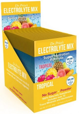 Dr. Price's Electrolyte Mix Tropical Flavor (Web)