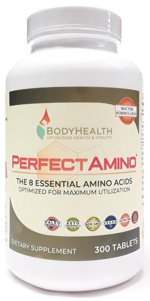 BodyHealth Perfect Amino Tablets Big Jar Main product view