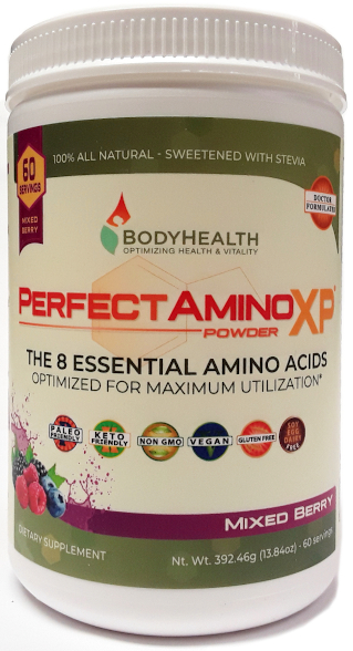 BodyHealth PerfectAminoXP Mixed Berry 60 Servings main