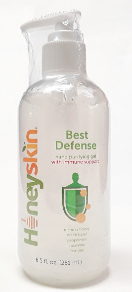 HoneySkin Best Defense Hand Purifying Aloe Gel product image main