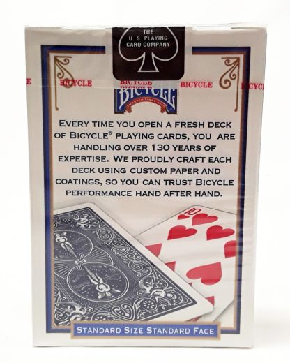 bicycle jumbo playing cards back image view