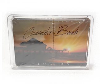 PCF Souvenirs Playing Cards Clearwater Beach product image view main