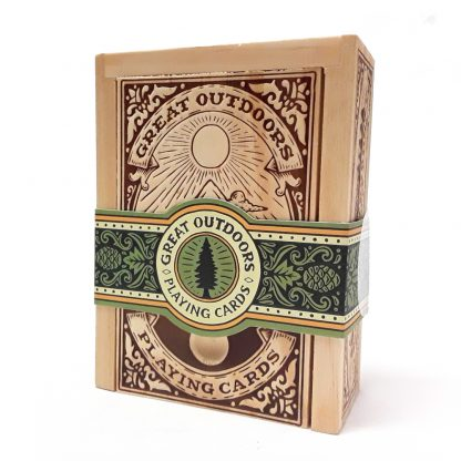 Chronicle Books Great Outdoors Playing Cards product image main view