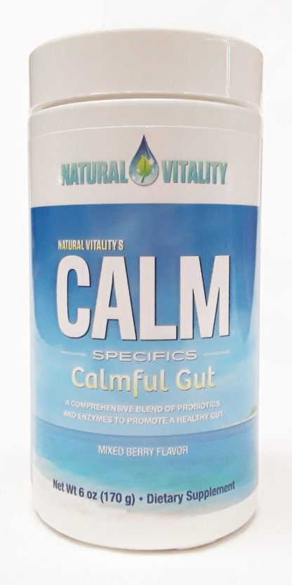 Natural Vitality Calm Specifics Calmful Gut product image view main