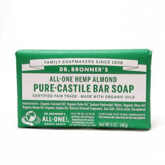 Dr. Bronner's Almond Pure-Castille Bar Soap product image view main