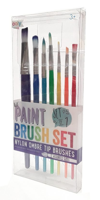 Ooly Lil Paint Brush Set (3)