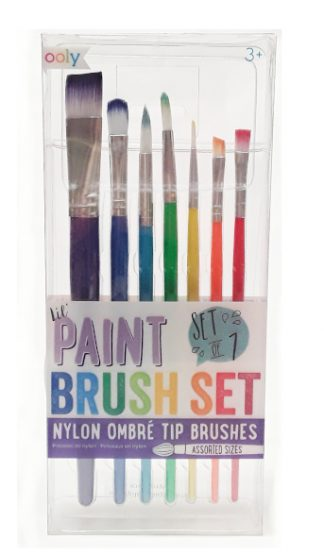 Ooly Lil Paint Brush Set product image view main