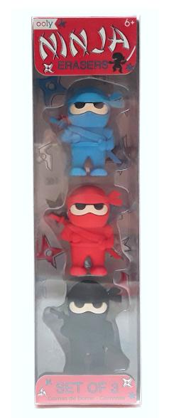 Ooly Ninja Erasers product image view main