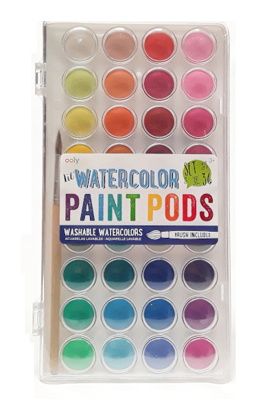 Ooly Watercolor Paint Pods product image main view