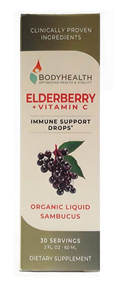BodyHealth Elderberry + Vitamin C Immune Support Drops (1)