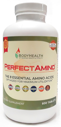 BodyHealth Perfect Amino 600 Tablets main