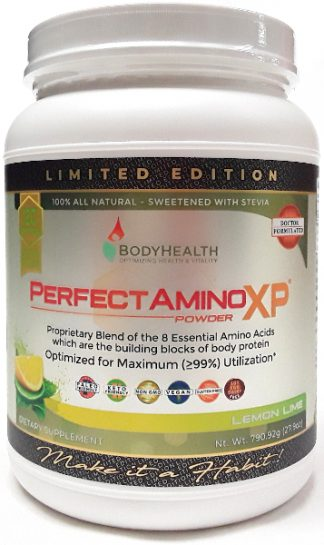BodyHealth Perfect Amino Big Big Jar Lemon main