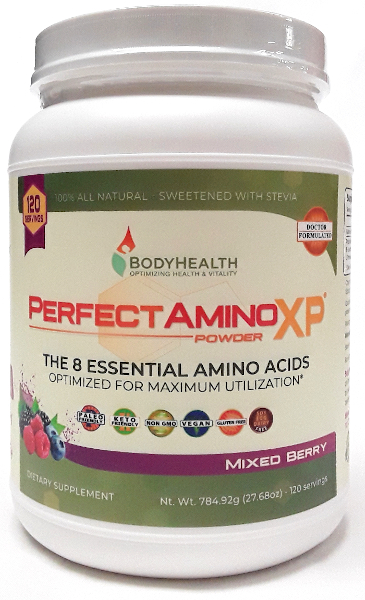 BodyHealth Perfect Amino XP BIG BIG jar Mixed Berry main