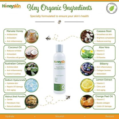 HoneySkin Face & Body Microdermabrasion product image 03