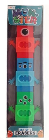 Ooly Monster Erasers Product Image main
