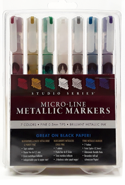 STUDIO SERIES METALLIC MARKERS product image view main