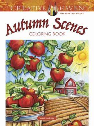 Creative Haven Autumn Scenes Coloring Book maintemp