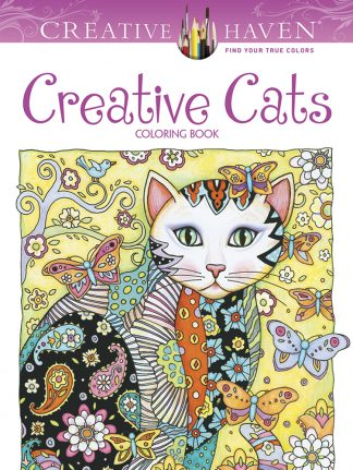 Creative Haven Creative Cats Coloring Book maintemp