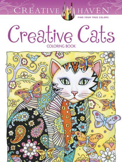 Creative Haven Creative Cats Coloring Book maintemp